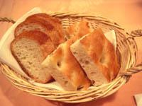 パンのバスケット