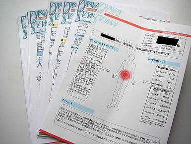 肥満遺伝子分析レポート