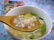 ローカロ生活 鶏団子と野菜の塩ちゃんこぞうすい