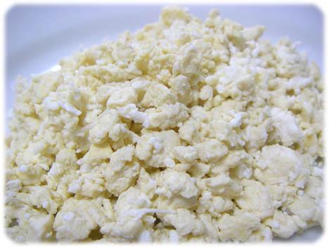 豆腐と卵白のご飯風